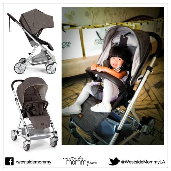 Mamas & Papas Signature Edition Urbo2 Stroller - Chestnut Tweed