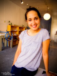 Owner and instructor of Good Dirt LA, Lina Alvarez (photo by Jonna Jetson Coleman)