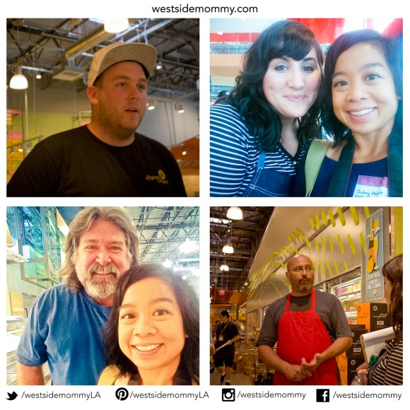 just a few of the people I met on the tour that help make things happen at Whole Foods Market!