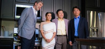 Eva Longoria Wows in White Dress at the LG Fam-To-Table Series ProBake Edition