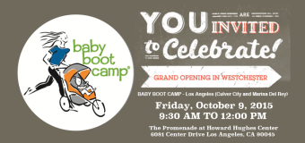 New Baby Boot Camp Location at Howard Hughes Center in Westchester
