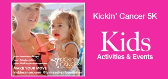 Kid-friendly events and activities at the Kickin' Cancer 5K