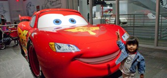 Check out the new Disney/Pixar Cars Mechanical Institute at the redesigned Petersen Automotive Museum