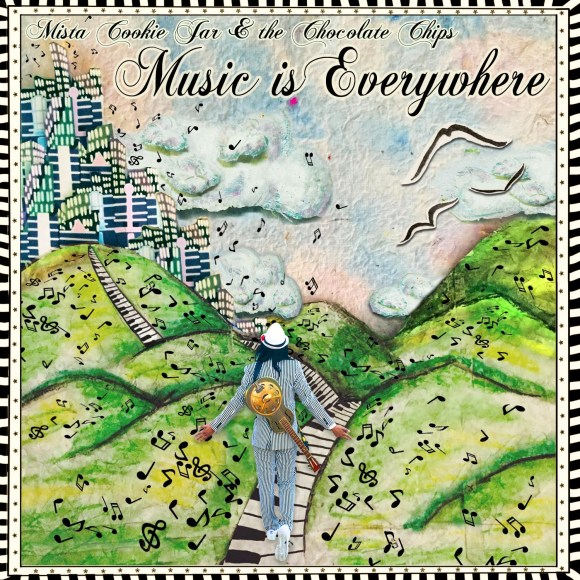 Art - Music is Everywhere LP (1 - Front)