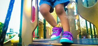 Keen sneakers passed the playground test