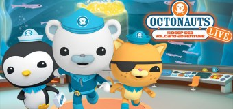 Giveaway: Octonauts Live Family 4-pack for October 1st show in Los Angeles