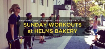 Sunday Workouts with Baby Boot Camp at Helms Bakery District