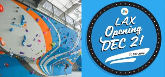 Sender One Indoor Rock Climbing Gym and Fitness Center opens it's second location at LAX Dec. 21