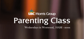 UBC Mom's Group is back in session!