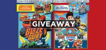Paw Patrol and Blaze of Glory Nickelodeon Box Set with Book Giveaway