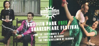 Griffith Park Free Shakespeare Festival June 24 – September 3