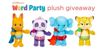 WORD PARTY plush giveaway