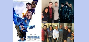 "Interview with ""Valerian and the City of a Thousand Planets"" Screenwriter/Director Luc Besson and Stars Dane DeHaan and Cara Delevingne"