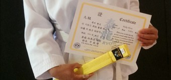 TKD Update: Yellow Belt achievement unlocked