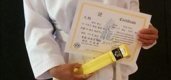 TKD Update: Yellow Belt achievement unlocked