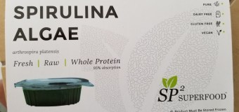 Pure Spirulina Algae – SP2 Superfood Review