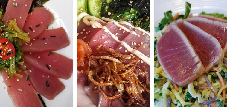 Ahi Tuna Three Ways - Milk & Eggs Sponsored Post