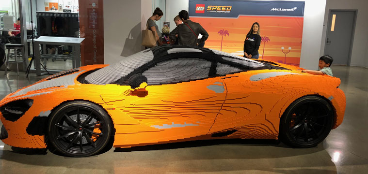 Event Recap: LEGO McLaren 720s Build Day at Petersen Automotive Museum