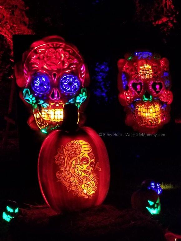 Dia De Los Muertos Jack O lanters Nights of the Jack Event in Calabasas, California Post on WestsideMommy.com