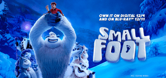 """Smallfoot"" DVD/BluRay Giveaway"