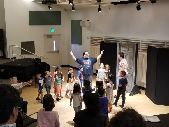 Community School Drama Class at Colburn in Los Angeles