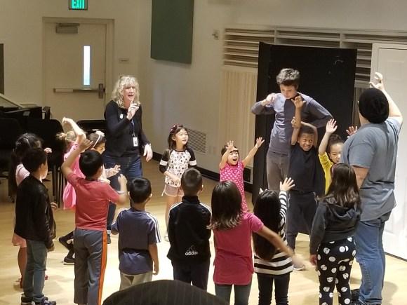 Community Drama Class at Colburn School, Los Angeles