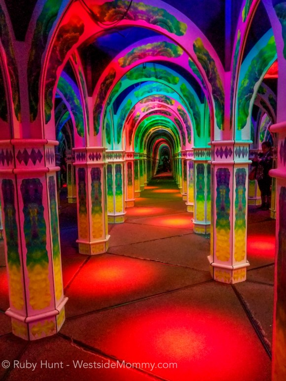Magowan's Infinite Mirror Maze at Pier 39 Fisherman's Wharf, San Francisco, California. Photo by Ruby Hunt