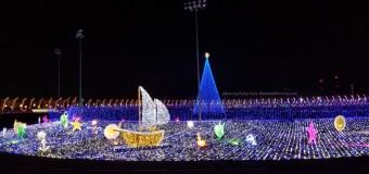 Santa's Speedway Drive Thru Light Experience at Irwindale Speedway