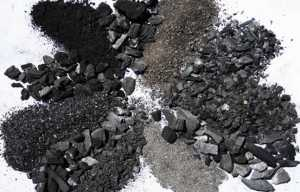 Biochar - forms and styles
