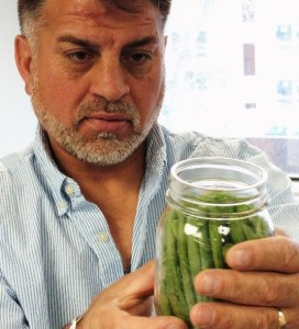 eating in season - canning inspection