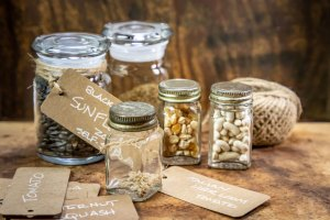 seed saving storage