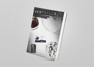 presentare un romanzo Westville news comunicazione mockup