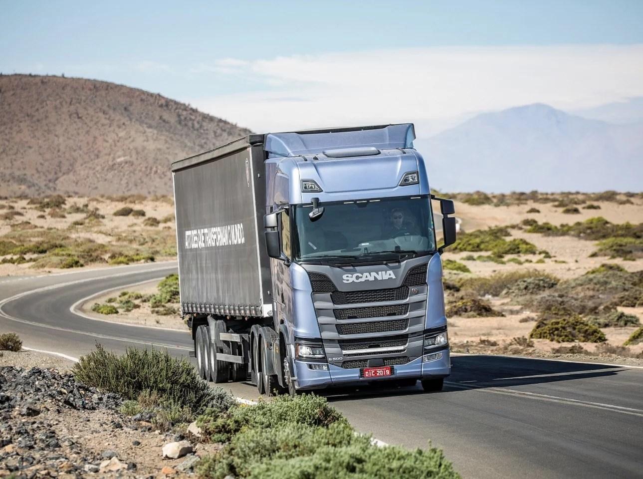 Scania S 500 6x4 Highline, general cargo transport. Arid Terrain