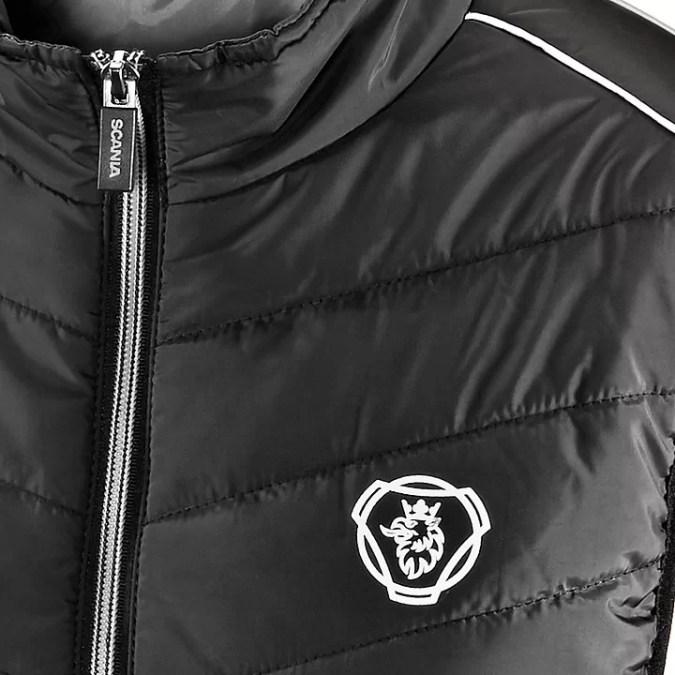 Scania Sleeveless Jacket close up