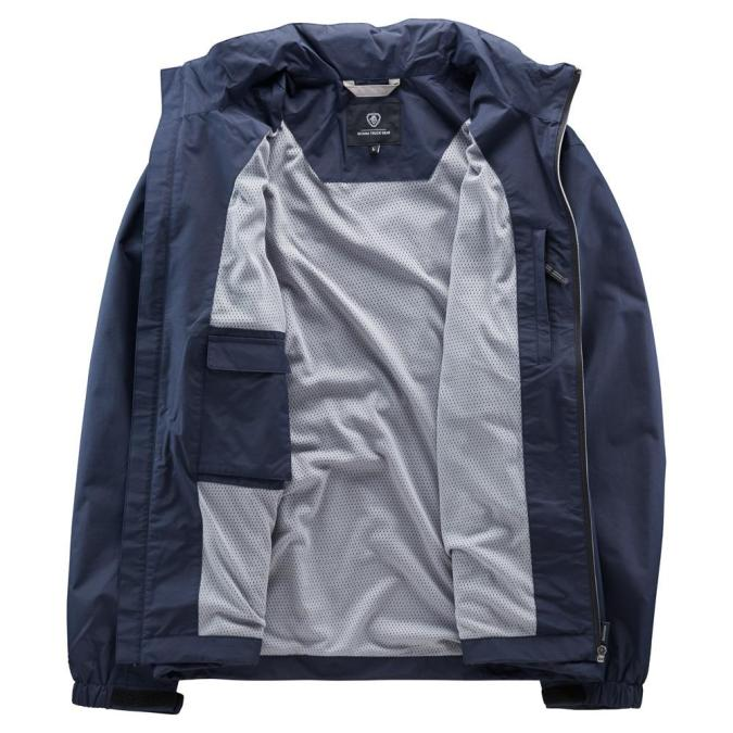 Scania Mens Navy storm jacket inside