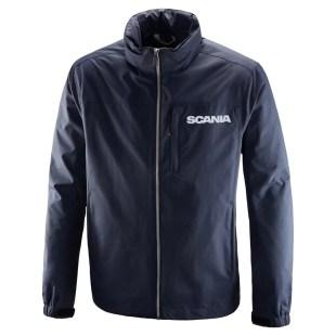 Scania Mens Navy storm jacket