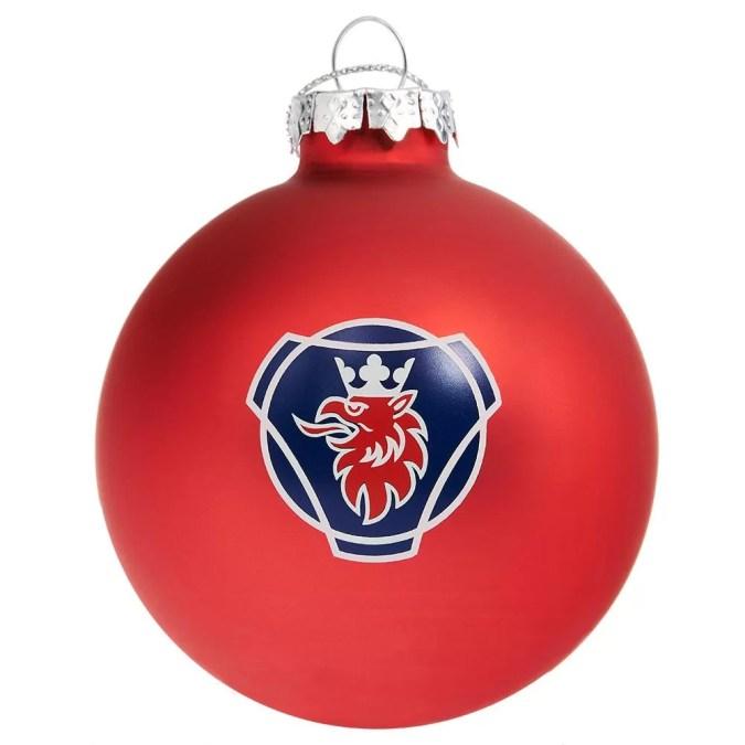 Scania Christmas Decorations