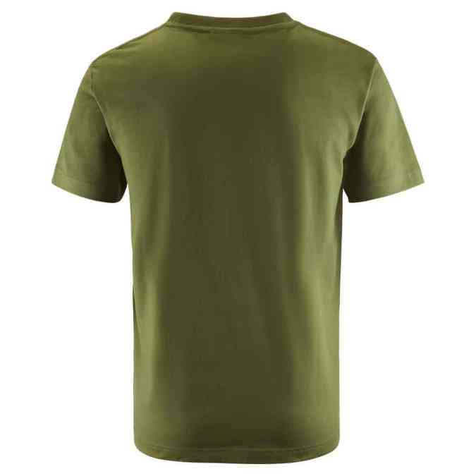 Scania mens green vabis tshirt back