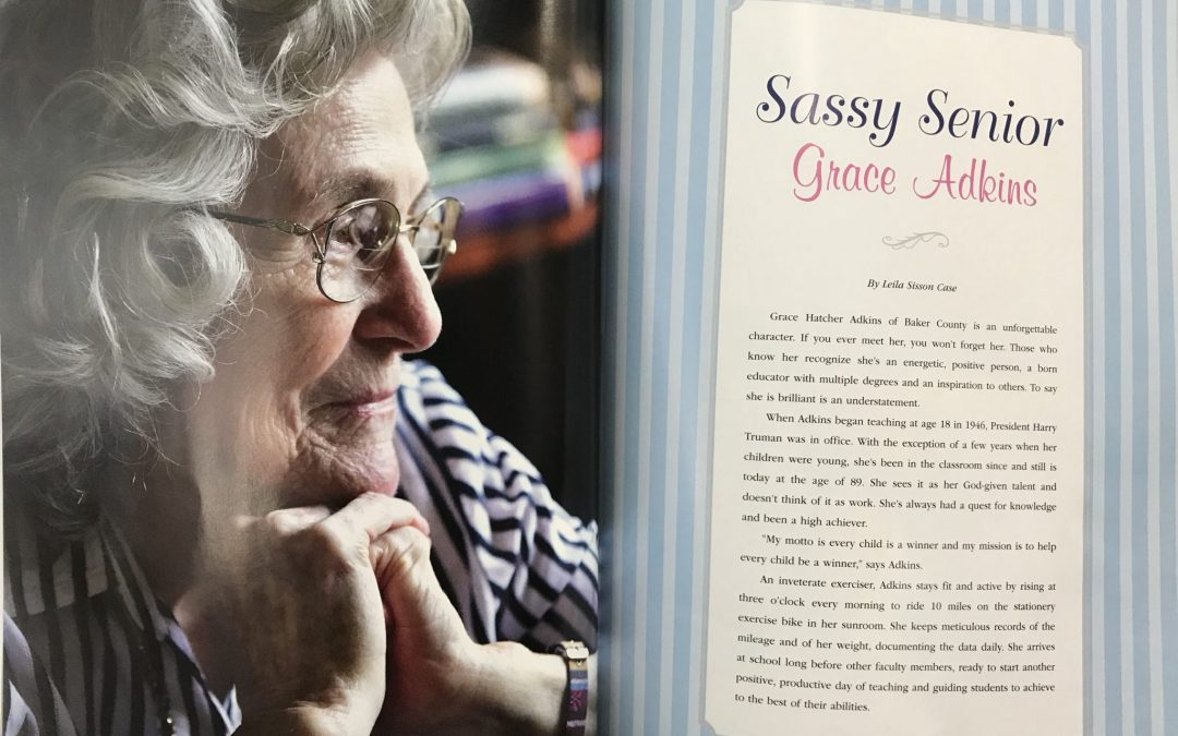 Mrs. Grace Adkins Featured in Southwest Georgia Magazine