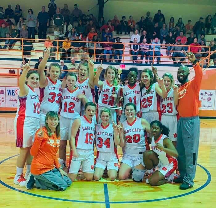JV Girls win Region.