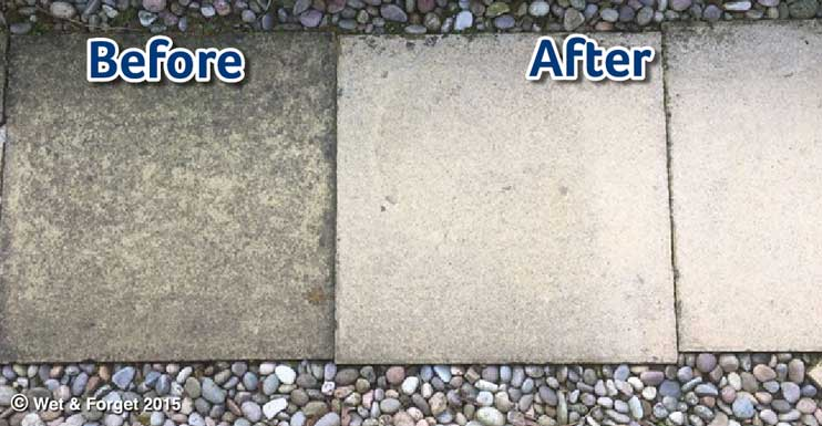 clean your patio without a pressure