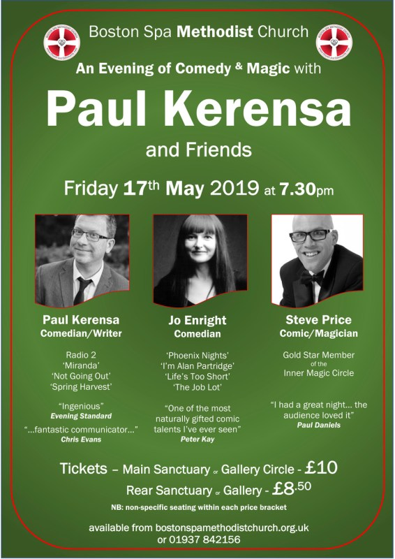 Paul Kerensa and Friends Flyer