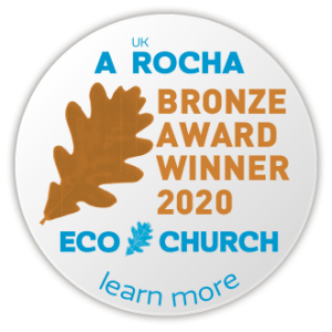 Bronze Eco Church Certificate 2020