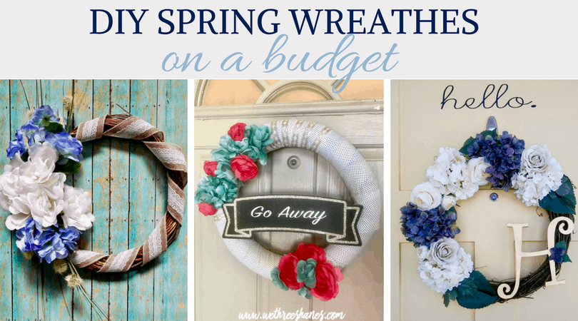 DIY Spring Wreaths for Any Budget