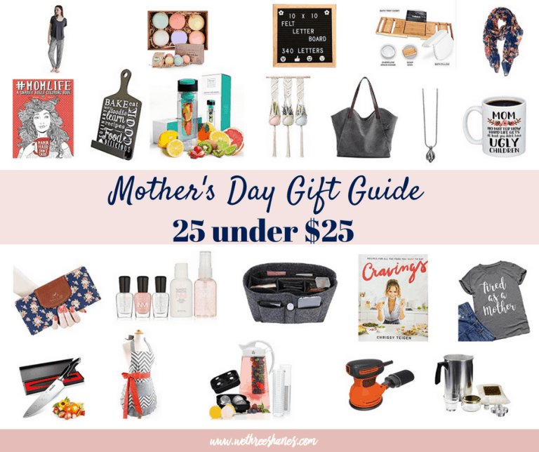Mother's Day Gift Guide   25 Under $25