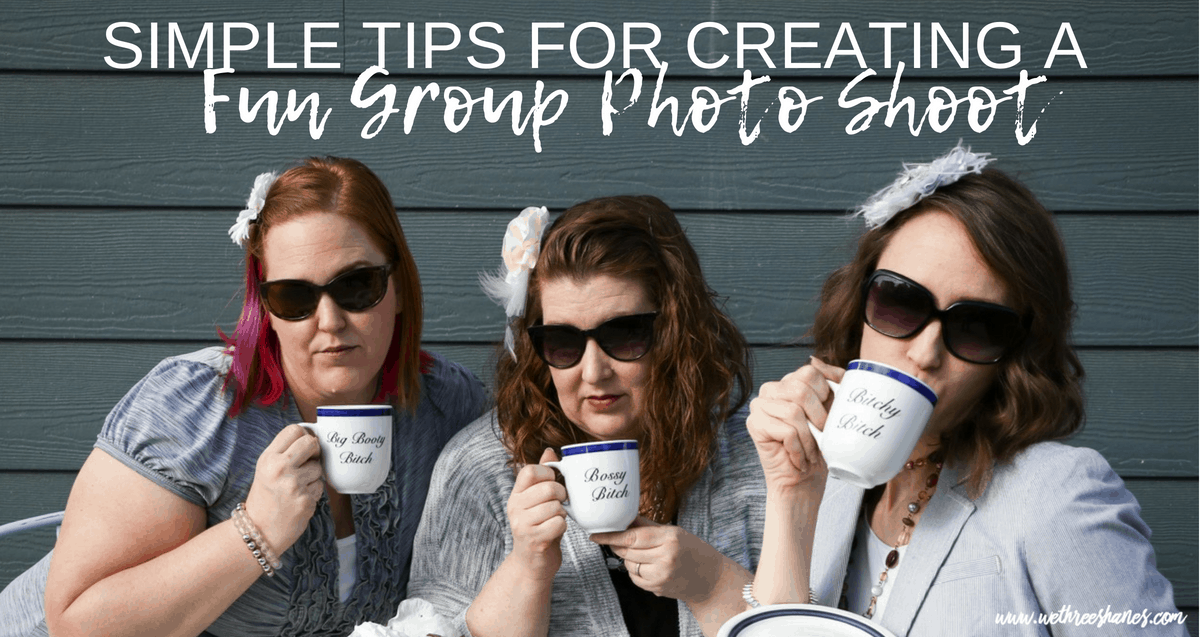 Tea Cup Group Photo Shoot & Tips