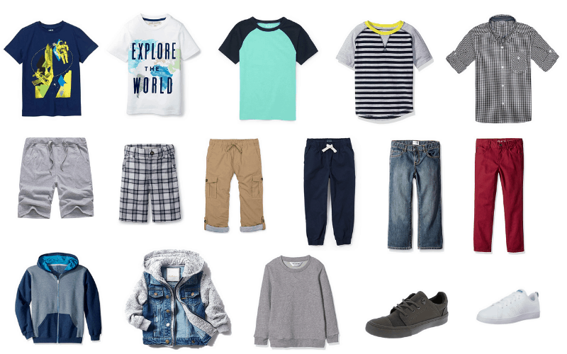 Back to School Capsule Wardrobe for Boys