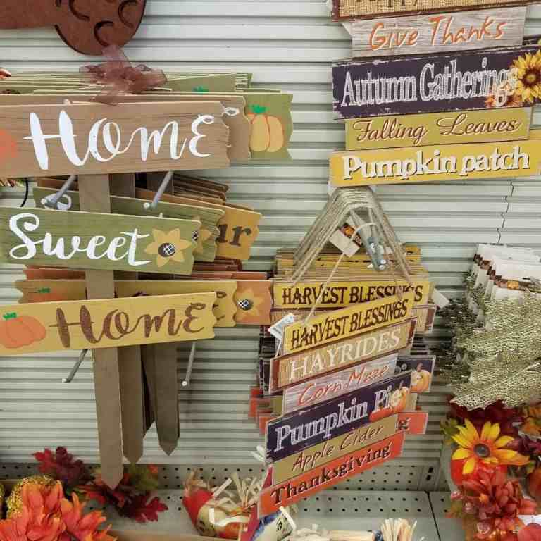 The Best Dollar Store Fall Decor