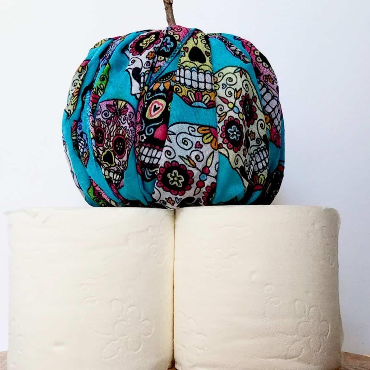 Easy Toilet Paper Pumpkins