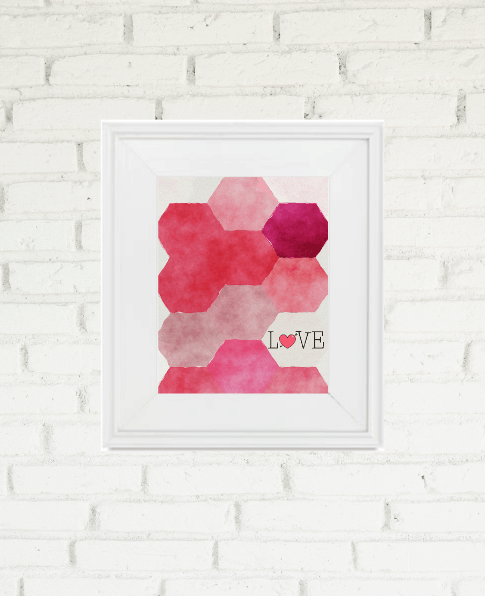 Free Printable Wall Art is a simple and inexpensive way to add a bit of holiday cheer to your home. Don't miss out on these darling Printable Valentine's Day Art prints. Fill your home with love this year!   We Three Shanes